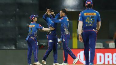 MI vs SRH IPL 2021: ముంబై బౌలర్ల మెరుపులు..గెలుపు ముంగిట బోల్తా పడిన హైదరాబాద్, 13 పరుగుల తేడాతో ముంబై ఇండియన్స్ విక్టరీ, పొలార్డ్కు మ్యాన్ ఆఫ్ ద మ్యాచ్