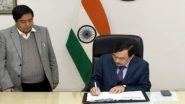 CEC Sushil Chandra Covid: చీఫ్ ఎలక్షన్ కమిషనర్ సుశీల్ చంద్రకు కరోనా, ఎన్నికల కమిషనర్ రాజీవ్కుమార్కు సైతం కోవిడ్, హోమ్ ఐసోలేషన్లోకి వెళ్లిన ఎన్నికల ప్రధాన అధికారులు