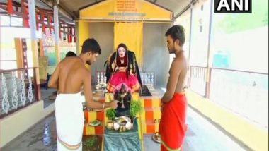 Corona Devi Temple: కోయంబత్తూరులో కరోనా దేవి ఆలయం, 48 రోజుల పాటు రోజూ కరోనాదేవికి పూజలు నిర్వహించనున్న నిర్వాహకులు, సోషల్ మీడియాలో వైరల్ అవుతున్న ఫోటోలు