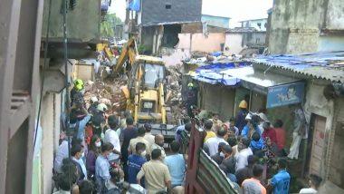 Mumbai Building Collapse: భారీ వర్షాలకు ముంబైలో కుప్పకూలిన రెండంతస్తుల భవనం, ప్రమాదంలో 11 మంది మృతి.. పలువురికి గాయాలు, కొనసాగుతున్న సహాయక చర్యలు