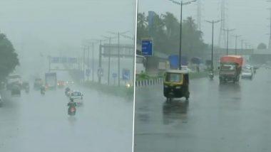Mumbai Rains: రుతపవనాలు రాకతో ముంబైలో భారీ వర్షాలు, రోడ్లు, లోతట్టు ప్రాంతాలు జలమయం, నీట మునిగిన పలు రైల్వే ట్రాక్లు, మరో ఐదు రోజుల పాటు ముంబైకి భారీ వర్ష సూచన