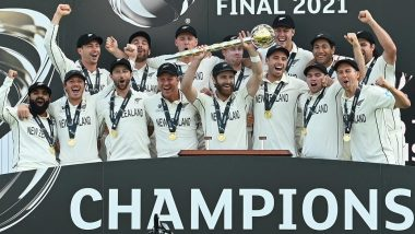 New Zealand Win WTC 21: తొలి టెస్ట్ క్రికెట్ ప్రపంచ ఛాంపియన్గా అవతరించిన న్యూజిలాండ్, ఫైనల్లో భారత్పై 8 వెకెట్ల తేడాతో ఘన విజయం