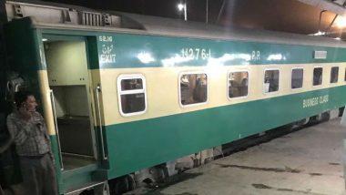 Pakistan Train Accident: ఘోర రైలు ప్రమాదం, 30 మంది అక్కడికక్కడే మృతి, 50 మందికి పైగా గాయాలు, పాకిస్థాన్లో ఢీ కొన్న రెండు ఎక్స్ప్రెస్ రైళ్లు, సింధ్ ప్రాంతంలో రెటి, దహార్కి రైల్వే స్టేషన్ల మధ్య ఘటన