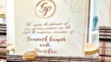 Hero Sumanth Wedding Card: త్వరలో రెండో పెళ్లి చేసుకోబోతున్న సుమంత్, కుటుంబ సన్నిహితురాలు పవిత్రతో వివాహం, సోషల్ మీడియాలో వైరల్ అవుతున్న సుమంత్-పవిత్ర వెడ్డింగ్ కార్డు