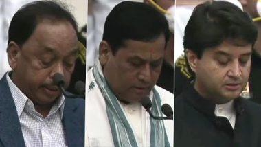 Modi Cabinet Reshuffle: ప్రధాని మోదీ కొత్త జట్టు లిస్ట్ ఇదే, 15 మంది కేబినెట్ మంత్రులు, 28 మంది సహాయమంత్రులు ప్రమాణ స్వీకారం, మోదీ రెండో సారి అధికారంలో వచ్చిన తర్వాత చేపట్టిన తొలి మంత్రివర్గ విస్తరణ ఇదే
