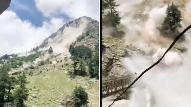 Himachal Pradesh Tragedy: ఘోర విషాదం..విరిగిపడిన కొండ చరియలు, తొమ్మిది మంది మృతి, నలుగురికి తీవ్ర గాయాలు, కూలిన బాట్సేరి వంతెన, హిమాచల్ప్రదేశ్ కిన్నౌర్ జిల్లా సంగాల్ లోయ వద్ద ప్రమాదం