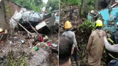 Mumbai Wall Collapse: ముంబైలో ఘోర విషాదం, భారీ వర్షాలకు 11 మంది మృతి, చెంబూరులో విరిగిపడిన కొండచరియలు, కొనసాగుతున్న సహాయక చర్యలు