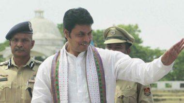 Murder Attempt on Tripura CM: వాకింగ్ వేళ...త్రిపుర ముఖ్యమంత్రిపై హత్యాయత్నం, ముఖ్యమంత్రిని కారుతో ఢీకొట్టేందుకు యత్నించగా త్రుటిలో తప్పించుకున్న విప్లవ్ కుమార్ దేవ్, ముగ్గురుని అరెస్ట్ చేసిన పోలీసులు