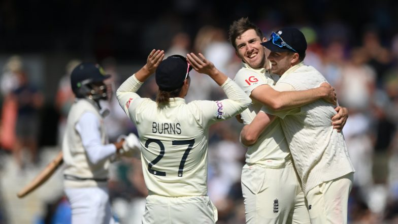 India vs England 3rd Test 2021: మూడో టెస్టులో భారత్ ఓటమి, ఇన్నింగ్స్ 76 పరుగుల తేడాతో ఘన విజయం సాధించిన ఇంగ్లండ్, రెండో ఇన్నింగ్స్లో 278 పరుగులకే ఆలౌటైన టీంఇండియా, సిరీస్ 1-1తో సమం