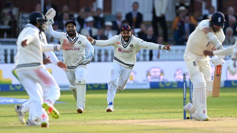 India Win Lord's Test: లార్డ్స్ టెస్టులో అద్భుతం చేసిన భారత్, 151 పరుగుల తేడాతో ఇంగ్లండ్పై ఘన విజయం, ఐదు టెస్ట్ మ్యాచ్ల సిరీస్లో 1-0తో టీమిండియా ముందంజ