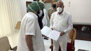 CM Capt Amarinder Singh Resigns: పంజాబ్ సీఎం పదవికి కెప్టెన్ అమరీందర్ రాజీనామా, గవర్నర్ భన్వరీలాల్ పురోహిత్కు రాజీనామా పత్రాన్ని అందజేసిన సింగ్