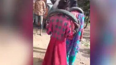 Madhra Pradesh: ప్రేమికులను దారుణంగా హింసించిన గ్రామస్థులు, మెడలో స్కూటర్ టైర్ వేసి డ్యాన్స్ చేయాలని ఒత్తిడి, ఐదుగురిని అరెస్ట్ చేసిన పోలీసులు