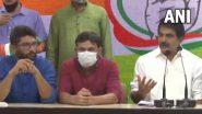 Kanhaiya Kumar, Jignesh Mewani Join Congress: కాంగ్రెస్ కండువా కప్పుకున్న కన్హయ్య కుమార్, ఎమ్మెల్యే జిగ్నేష్ మేవాని, కాంగ్రెస్ పార్టీ మాత్రమే కాదు.. ఒక ఆలోచన అంటూ వ్యాఖ్యలు