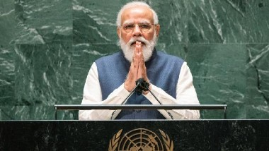 PM Modi at UNGA: నేను టీ అమ్మి ప్రధాని అయ్యాను, పాకిస్తాన్ పాముకు పాలు పోసి పెంచుతోంది, రండి భారత్లో వ్యాక్సిన్లు తయారుచేయండి, ఐరాస 76వ సమావేశంలో ప్రధాని మోదీ ప్రసంగంలో హైలెట్స్ ఇవే..