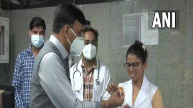 Covid Vaccinatin in India: ఒకే రోజు 2 కోట్ల వ్యాక్సినేషన్, సరికొత్త రికార్డు నెలకొల్పిన భారత్, హెల్త్ వర్కర్లకు ధన్యవాదాలు తెలిపిన కేంద్ర ఆరోగ్య శాఖా మంత్రి మన్సుఖ్ మాండవీయ