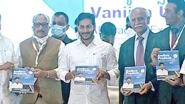 Vanijya Utsavam 2021: పారిశ్రామికవేత్తలకు ఏపీ ఆహ్వానం, ప్రభుత్వం పూర్తి సహకారం అందిస్తుందని తెలిపిన ఏపీ సీఎం వైయస్ జగన్, ఈజ్ ఆఫ్ డూయింగ్ బిజినెస్లో ఏపీ మొదటి స్థానంలో ఉందని ఐటీ మంత్రి గౌతం రెడ్డి