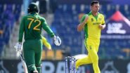 AUS vs SA Stat Highlights: గెలుపుతో T20 ప్రపంచ కప్ని ప్రారంభించిన ఆసీస్, ఐదు వికెట్ల తేడాతో దక్షిణాఫ్రికాపై ఘన విజయం, ప్లేయర్ ఆఫ్ ది మ్యాచ్గా నిలిచిన హాజెల్వుడ్