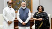 Rajinikanth Meets PM Modi: రాష్ట్రపతి కోవింద్, ప్రధాని మోదీని కలిసిన రజినీకాంత్, వారిని కలవడం ఆనందంగా ఉందంటూ ట్వీట్